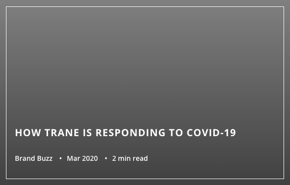 IS IT OK TO HAVE A HVAC TECHNICIAN IN MY HOUSE DURING THE COVID-19 OUTBREAK?